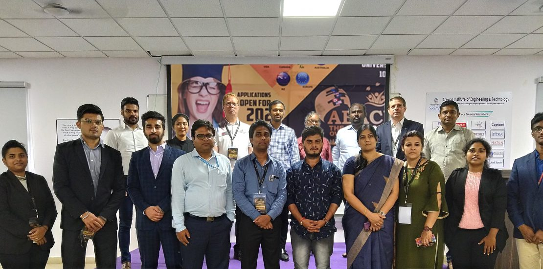 Overseas Education Fair: Sreyas Institute of Engineering and Technology has conducted Overseas Education Fair