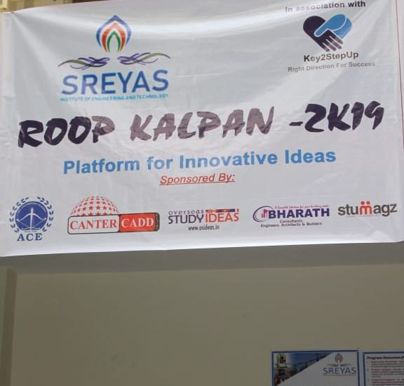 Civil Technical Fest ROOP KALPAN