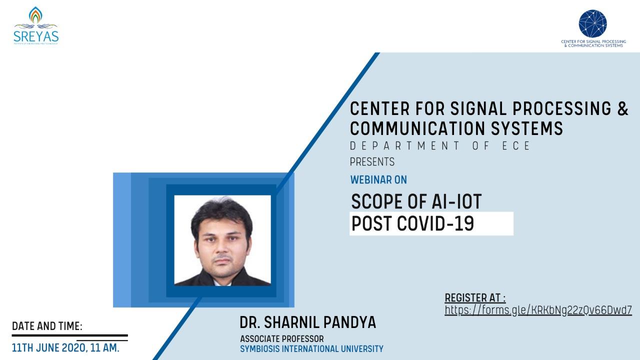 SCOPE OF AI-IOT POST COVID-19