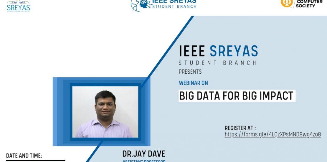 Big Data for Big Impact