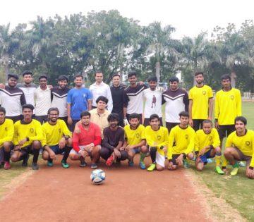 Sreyas Football team