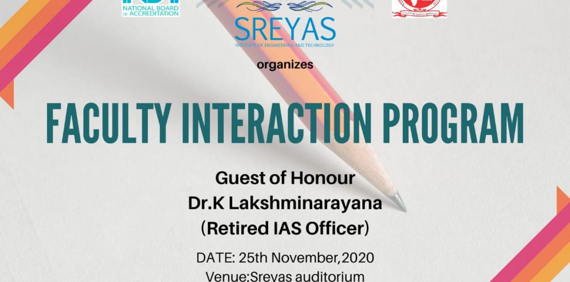 Faculty Interaction Program