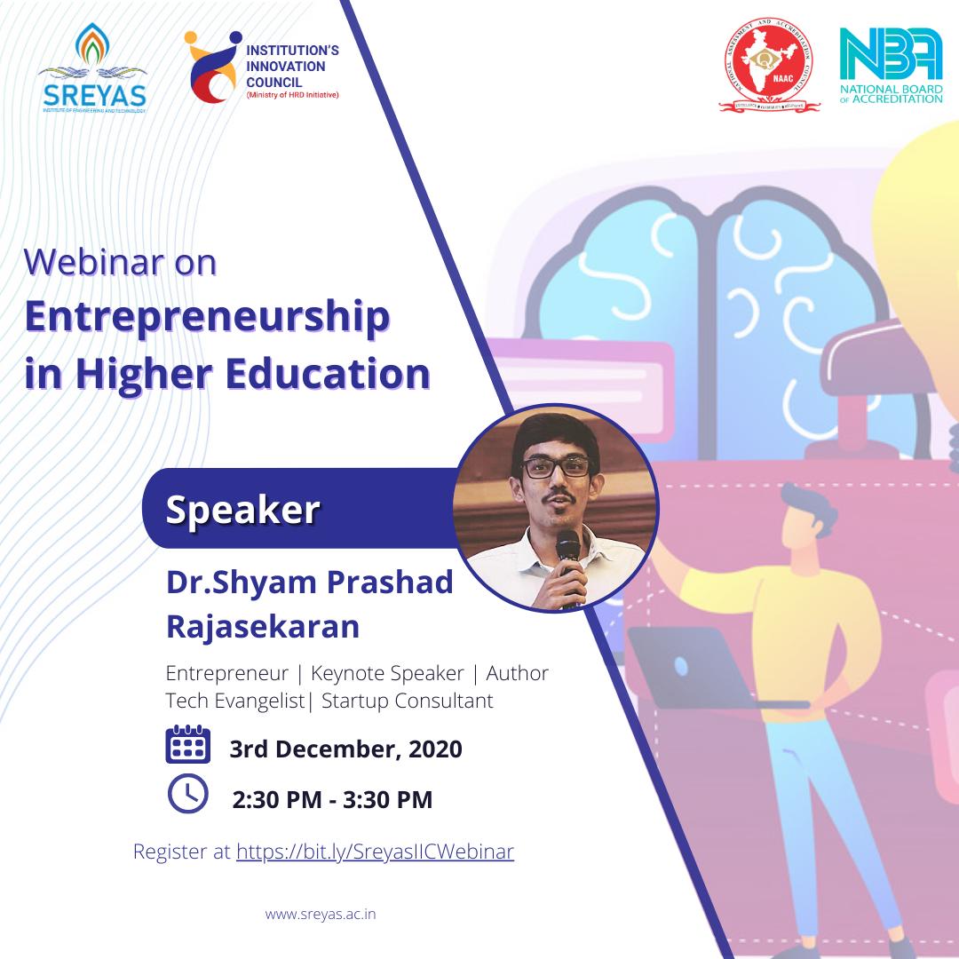 Entrepreneurship in Higher Education