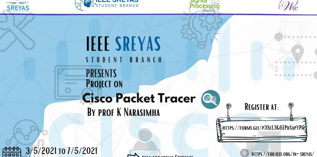 """Five Day Project on """"CISCO Packet Tracer"""""""