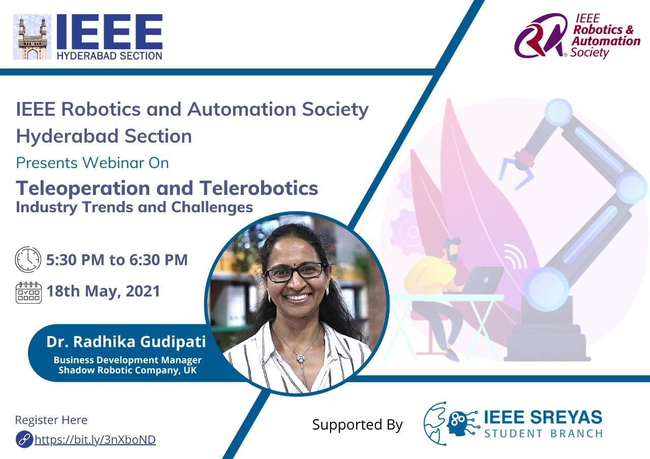 Teleoperation and Telerobotics