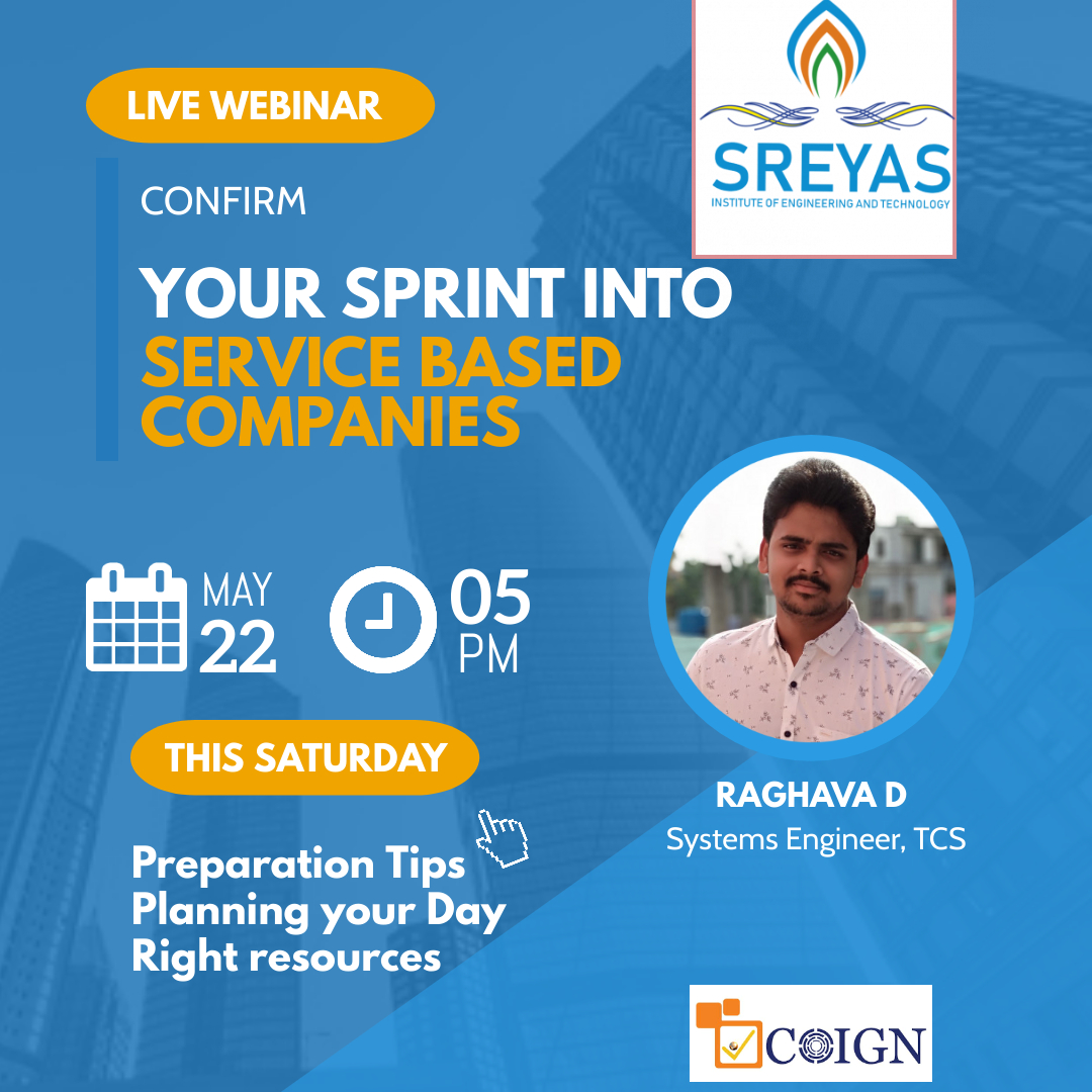 Confirm your Sprint into Service based Companies