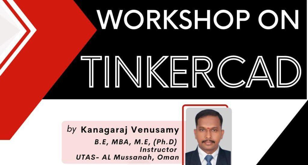 "Workshop on ""TINKERCAD"""